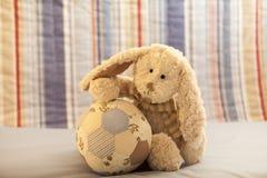 Weicher Spielzeug-Teddybär Lizenzfreie Stockfotografie