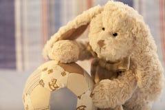 Weicher Spielzeug-Teddybär Stockfoto