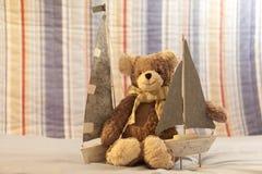 Weicher Spielzeug-Teddybär Stockfotografie