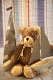 Weicher Spielzeug-Teddybär Stockfotos