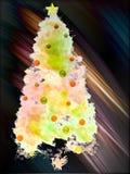Weicher Weihnachtsbaum lizenzfreie stockfotos