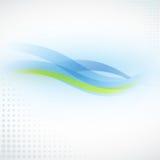 Weicher Wellen-Hintergrund Lizenzfreie Stockfotografie