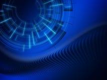 Weiches blaues Technologiekonzept der Zusammenfassung Mehr in meiner Galerie stock abbildung