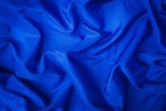 Weiches Samtstück blaues Gewebe Lizenzfreie Stockbilder
