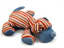 Weiches Spielzeug (ein Hund) Stockbild