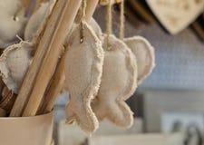 Weiches Spielzeug in Form eines Fisches, Stockbilder