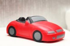 Weiches Spielzeugsportauto Stockfotos