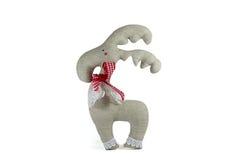 Weiches Spielzeugsymbol der Liebe, lokalisiert lizenzfreie stockbilder