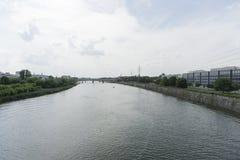 Weichsel in Krakau Lizenzfreies Stockfoto