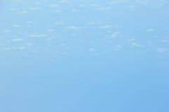 Weichzeichnung des blauen Himmels und der Wolke Stockfotografie