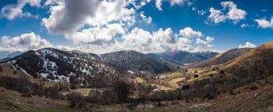 Weiden nahe Monte San Primo Lizenzfreies Stockfoto