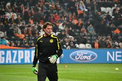 Weidenfeller is ready to play Royalty Free Stock Images