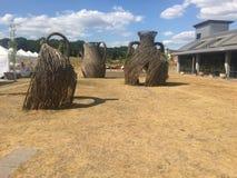 Weidenzweigskulptur bei Wedgwood stockbilder