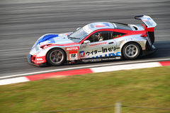 Weider Honda 18, SuperGT 2010 Royalty Free Stock Photo