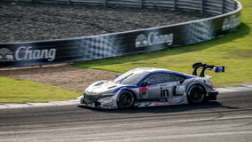 Weider Modulo NSX CONCEPT-GT of Weider Modulo DOME RACING in GT500 Races at Burirum, Thailand 2014. BURIRUM, THAILAND - OCTOBER 5 : Naoki Yamamoto ,Jean Karl stock images