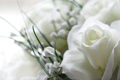 Weiße Blumen Stockfoto