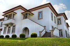 Weiße Villa Stockfotografie