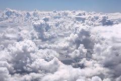 Weiße Wolken Lizenzfreies Stockfoto