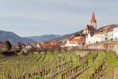 Weißenkirchen at Wachau Stock Images