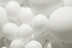Weißer Ballon Lizenzfreie Stockbilder