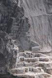 Weißer Marmorsteinbruch Lizenzfreie Stockbilder