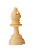 Weißer Schach Bishop Lizenzfreie Stockfotos
