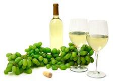 Weißer Wein Stockbild