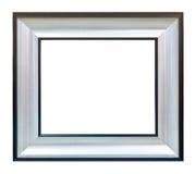 Weißes Fotobildfeld getrennt Stockbild