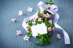 Weigel beautiful pink flowers Royalty Free Stock Photos
