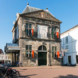 Weigh house museum on Market Square in Gouda, Holland Royalty Free Stock Photography