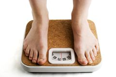 Weighing In Stock Photography