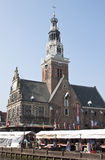 Weighing House in Alkmaar, the Netherlands Royalty Free Stock Photography