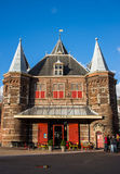 The weighing House (Waag) royalty free stock image