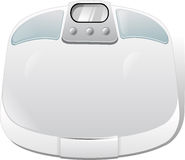 Weighing scale Royalty Free Stock Photo