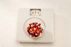 Weighing scale Stock Image