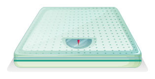 A weighing scale Stock Photography