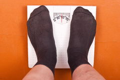 Weighing scales Stock Photos