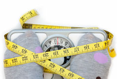 Weighing scales Royalty Free Stock Photo
