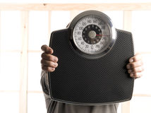 Weight background Stock Photo
