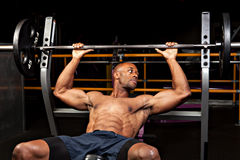 Weight Bench Press Stock Images