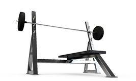 Weight bench Stock Photo