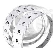 Weight Care Background - Tape Measure Royalty Free Stock Photography