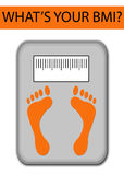 Weight concept Royalty Free Stock Images