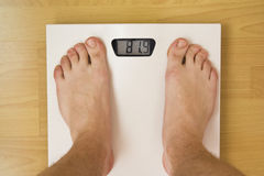 Weight concept Royalty Free Stock Image