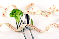 Weight Control Concept by Diet Control. Royalty Free Stock Photo