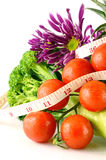 Weight Control Concept by Diet Control. Royalty Free Stock Photos