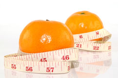 Weight Control Concept by Diet Control. Royalty Free Stock Images