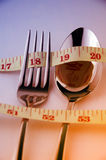 Weight Control Concept by Diet Control. Royalty Free Stock Photography