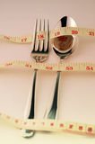 Weight Control Concept by Diet Control. Stock Photo