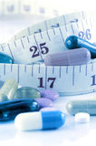 Weight Control with Medication Treatment. Royalty Free Stock Photos